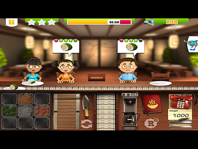 Youda sushi chef google play download and play on mobile.